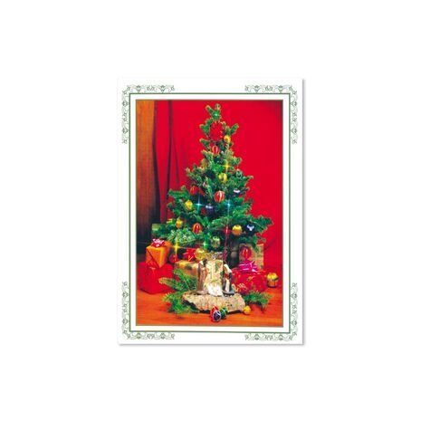 Christmas Card (Xmas Tree with Gifts)