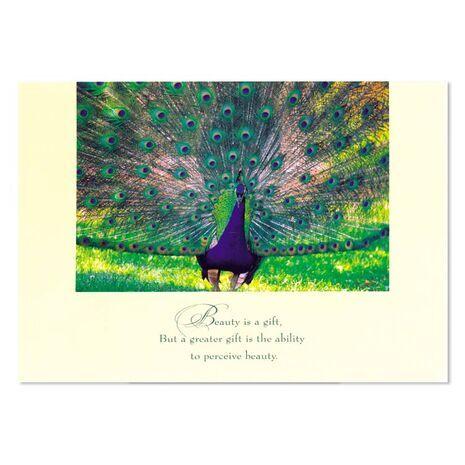 Greeting Card (Peacock)