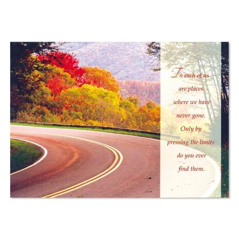 Greeting Card (Road)