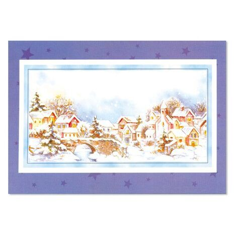 Christmas Card (Snow)