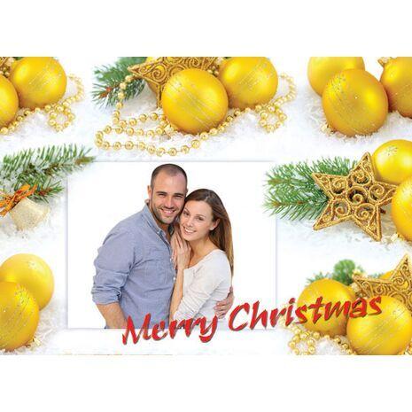 Personalised Christmas Card 015