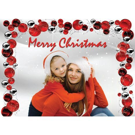 Personalised Christmas Card 016