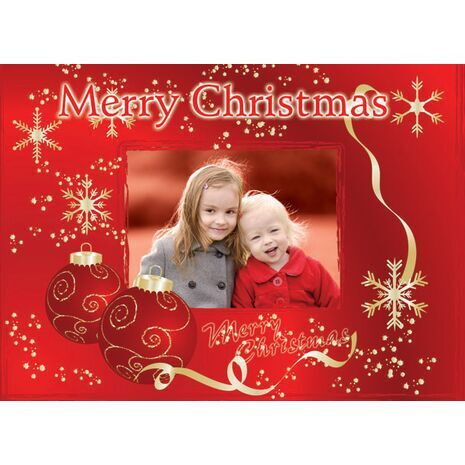 Personalised Christmas Card 017