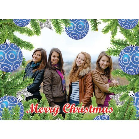 Personalised Christmas Card 018