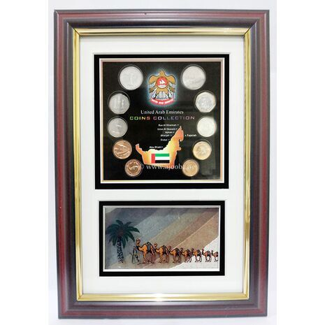 Coin + Medium Sand Frame