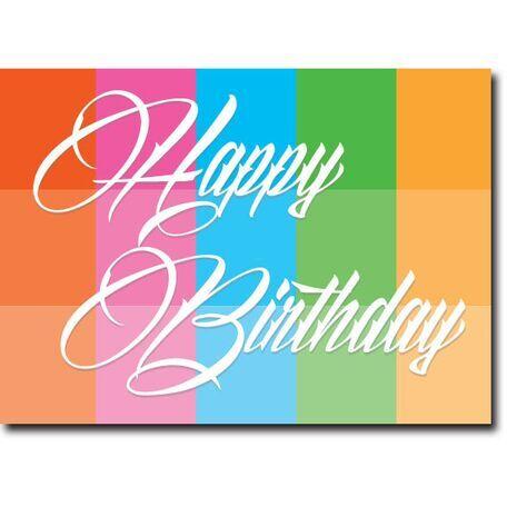 Happy Birthday Corporate Card HBCC 1106