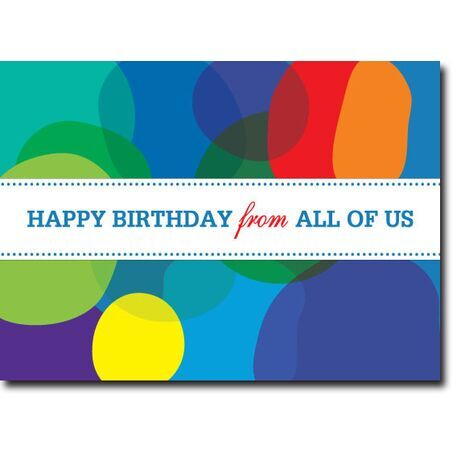 Happy Birthday Corporate Card HBCC 1108