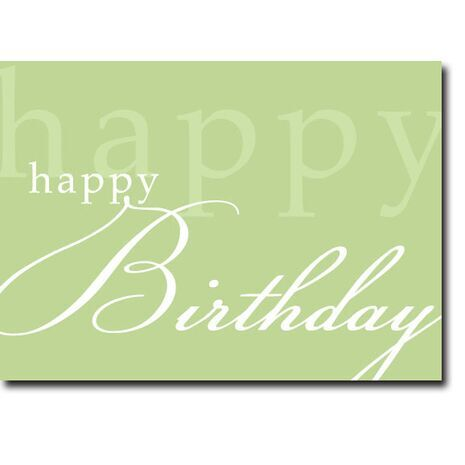 Happy Birthday Corporate Card HBCC 1112