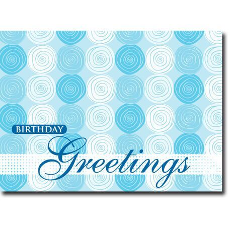 Happy Birthday Corporate Card HBCC 1114