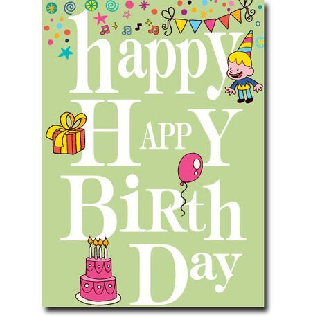 Happy Birthday Corporate Card HBCC 1116