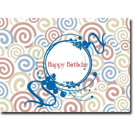 Happy Birthday Corporate Card HBCC 1117