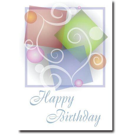 Happy Birthday Corporate Card HBCC 1118