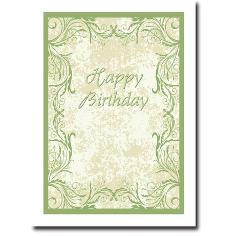 Happy Birthday Corporate Card HBCC 1121