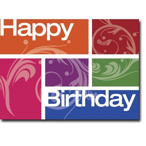 Happy Birthday Corporate Card HBCC 1128