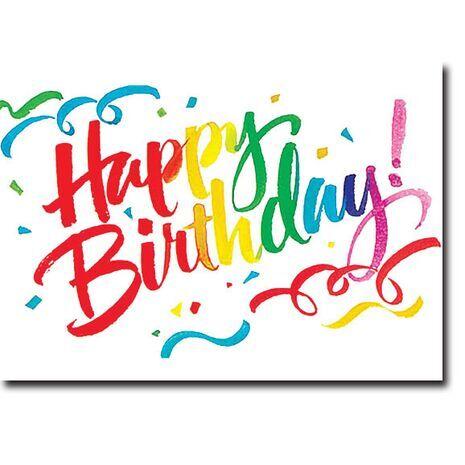 Happy Birthday Corporate Card HBCC 1131