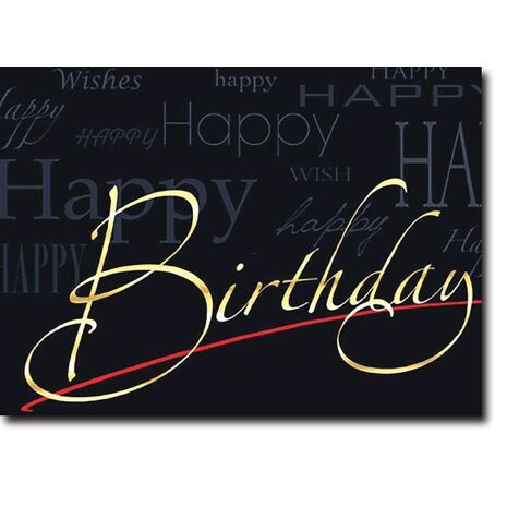 Happy Birthday Corporate Card HBCC 1135
