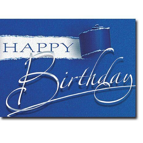 Happy Birthday Corporate Card HBCC 1136