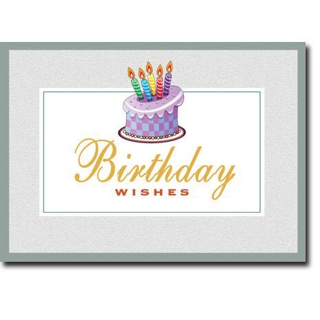 Happy Birthday Corporate Card HBCC 1137