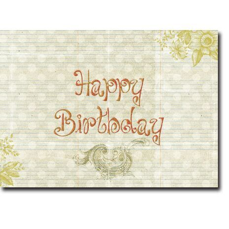 Happy Birthday Corporate Card HBCC 1138