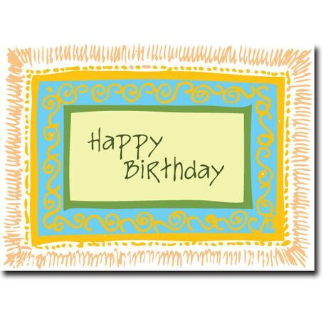 Happy Birthday Corporate Card HBCC 1142