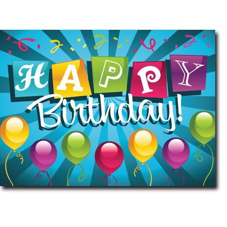 Happy Birthday Corporate Card HBCC 1146