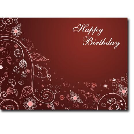 Happy Birthday Corporate Card HBCC 1148