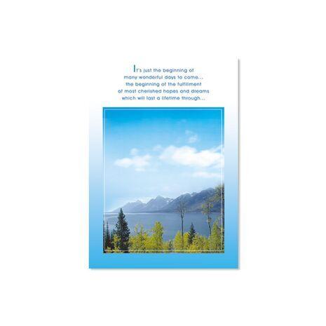 Greeting Card (Ocean/Mountains)