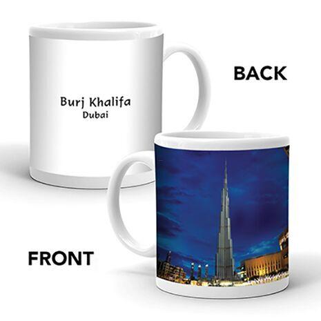 Ajooba Dubai Souvenir Mug Burj Khalifa 0018
