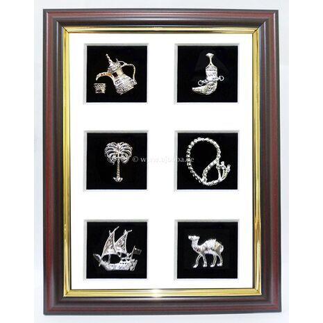 6 House Metal Frame