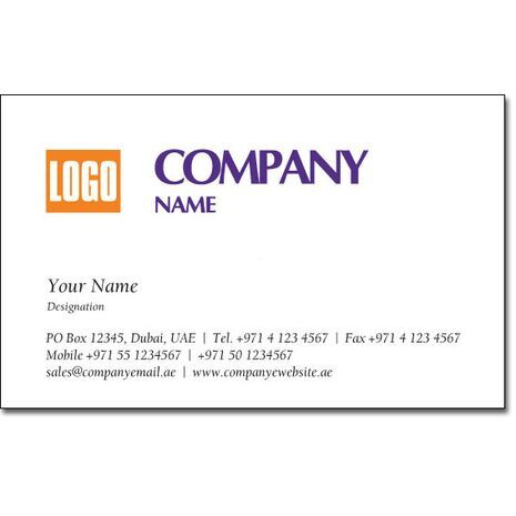Business Card BC 0015