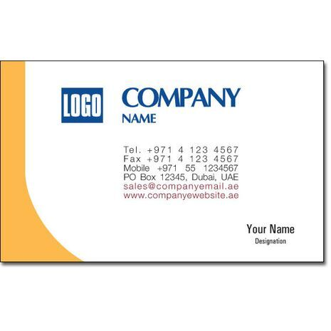 Business Card BC 0018