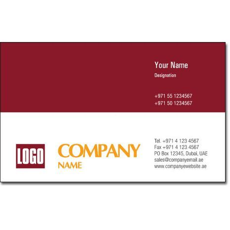 Business Card BC 0020