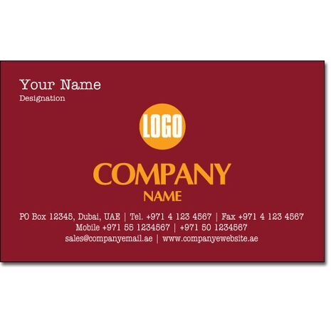 Business Card BC 0025