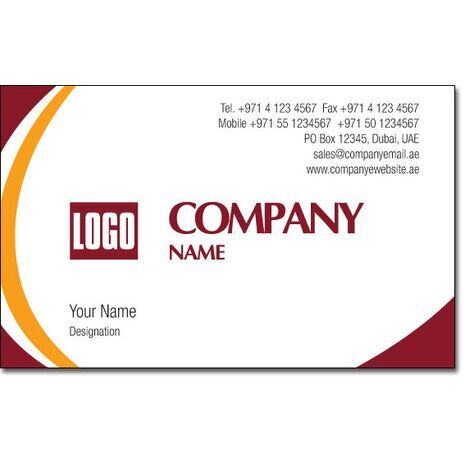 Business Card BC 0029