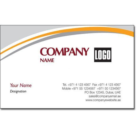 Business Card BC 0033
