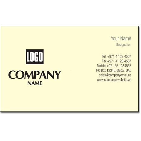Business Card BC 0038