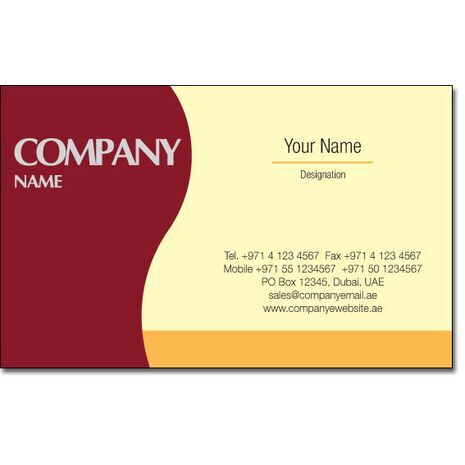 Business Card BC 0059