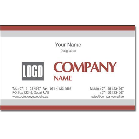Business Card BC 0072