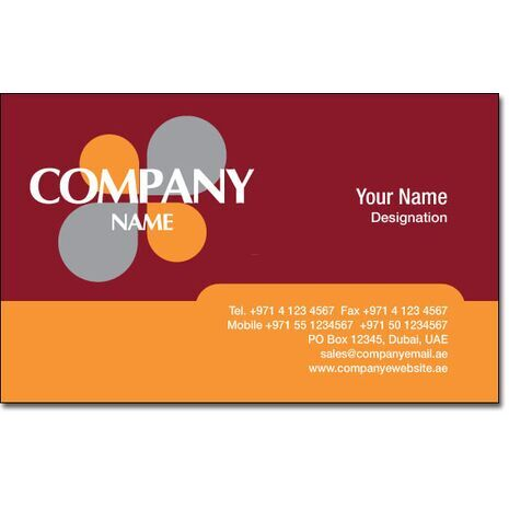 Business Card BC 0074