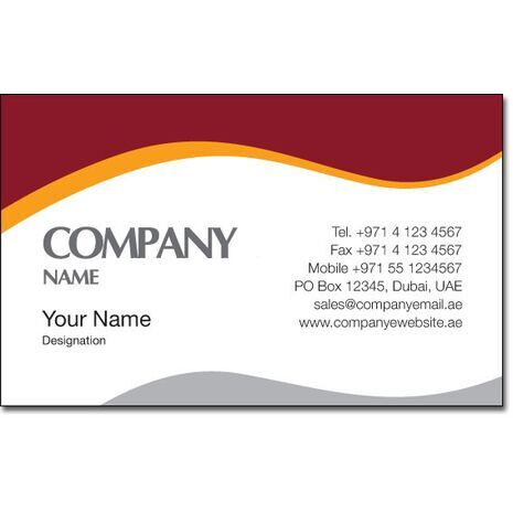 Business Card BC 0082
