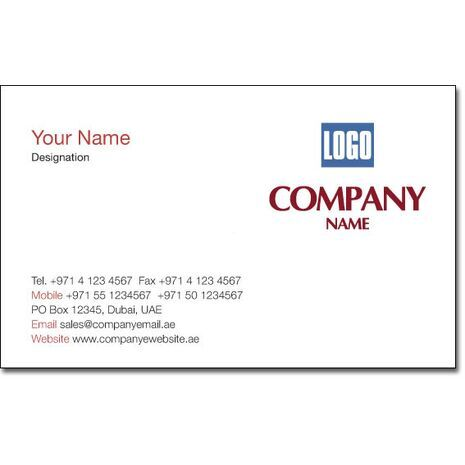 Business Card BC 0086