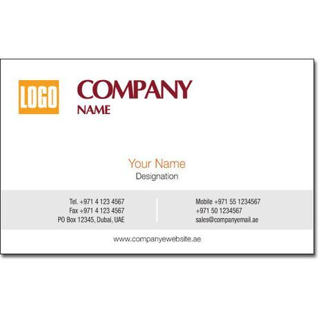 Business Card BC 0089