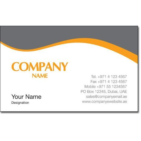 Business Card BC 0092