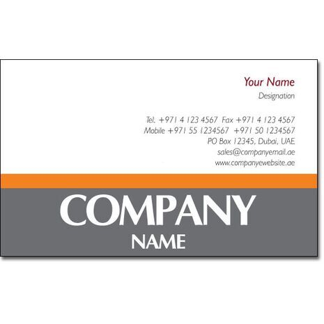 Business Card BC 0095