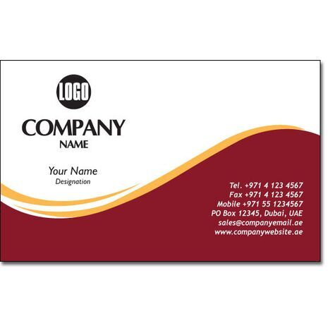 Business Card BC 0109