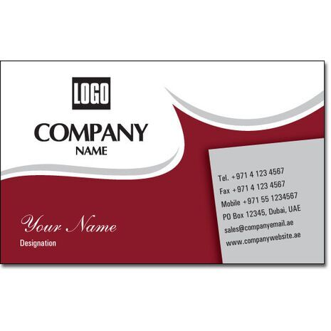 Business Card BC 0110