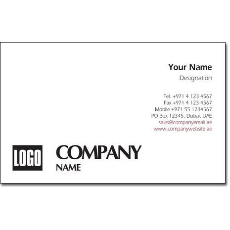 Business Card BC 0122