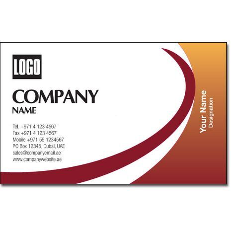 Business Card BC 0134