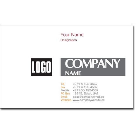 Business Card BC 0135