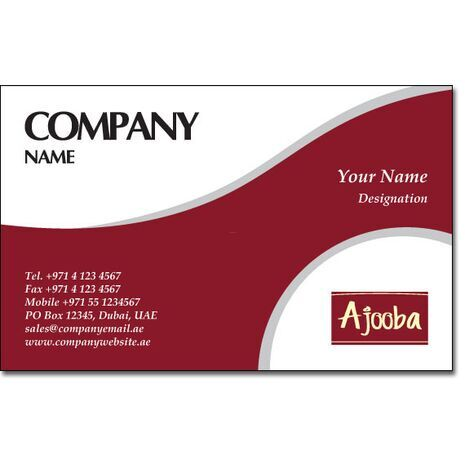 Business Card BC 0142